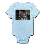 Spotted Leopard Face Infant Creeper