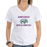 Rhinoceros Trapped In A Woman's Body Shirt
