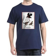 Audubon Red-Winged Blackbird (Front) T-Shirt