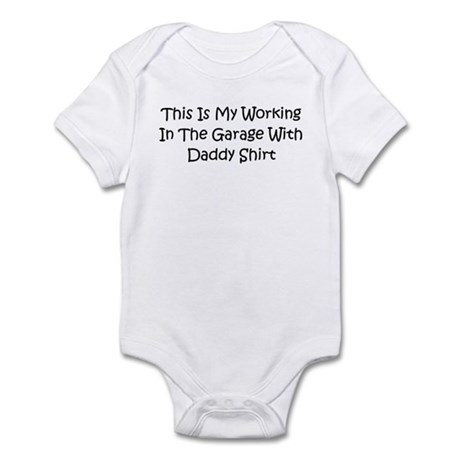 Garage With Daddy Infant Bodysuit