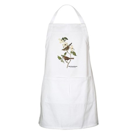 Audubon White-Throated Sparrow BBQ Apron