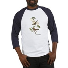 Audubon White-Throated Sparrow (Front) Baseball Je