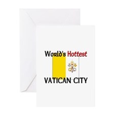 World's Hottest Vatican City Greeting Card
