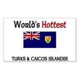 World's Hottest Turks & Caicos Islander Decal