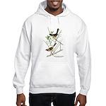 Audubon Towhee Bird (Front) Hooded Sweatshirt
