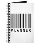 Planner Barcode Journal