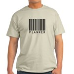 Planner Barcode Light T-Shirt