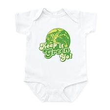 Keep it Green Yo! Infant Bodysuit