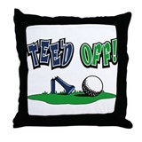 Funny Golf Gifts Throw Pillow