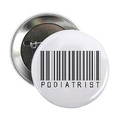 "Podiatrist Barcode 2.25"" Button (100 pack)"