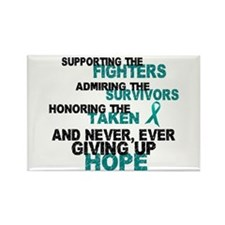 Fighters Survivors Taken 3 Rectangle Magnet (100 p