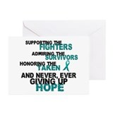 Fighters Survivors Taken 3 Greeting Cards (Pk of 2