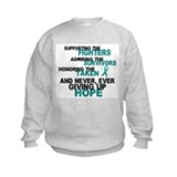 Fighters Survivors Taken 3 Sweatshirt