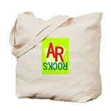 AR Rocks Tote Bag