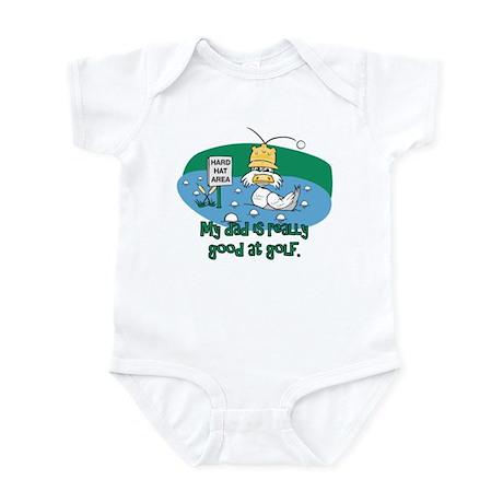 Dad's Golf Gifts Infant Bodysuit
