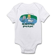 Dad's Golf Gifts Infant Bodysuit