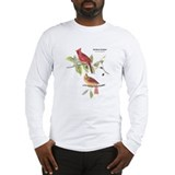 Audubon Northern Cardinal Bird (Front) Long Sleeve