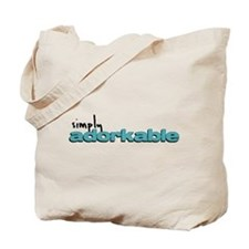 Simply Adorkable Tote Bag