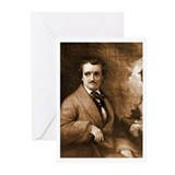 Edgar Allan Poe Greeting Cards (Pk of 20)
