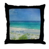Beach Throw Pillow