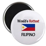 "World's Hottest Filipino 2.25"" Magnet (10 pack)"