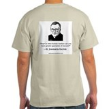 St. Josemaria Grey T-Shirt: &quot;Pray!&quot;