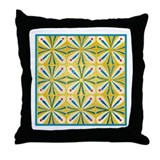 Modern Yellow 1 Throw Pillow