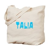 Talia Faded (Blue) Tote Bag