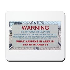 What Happens In Area 51 Stays Mousepad