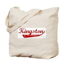 Kingston (red vintage) Tote Bag