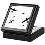 Acrobatic Planes Keepsake Box