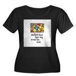 Quilters - Around the Block Women's Plus Size Scoo