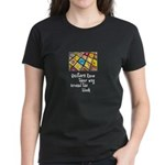 Quilters - Around the Block Women's Dark T-Shirt