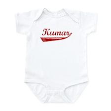 Kumar (red vintage) Infant Bodysuit
