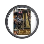 Lewy Stix Wall Clock