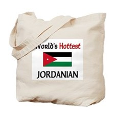 World's Hottest Jordanian Tote Bag