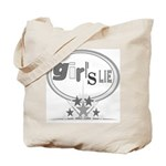 Girl's Lie Tote Bag