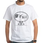 Girl's Lie White T-Shirt