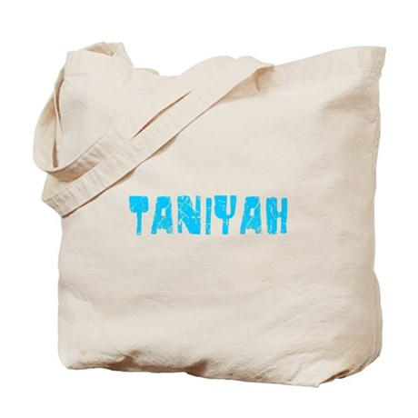Taniyah Faded (Blue) Tote Bag