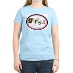 Girl's Lie Women's Pink T-Shirt