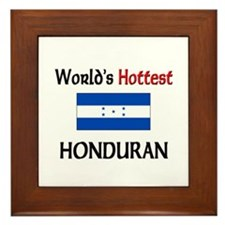 World's Hottest Honduran Framed Tile