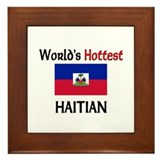 World's Hottest Haitian Framed Tile