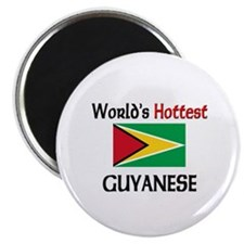 "World's Hottest Guyanese 2.25"" Magnet (10 pack)"