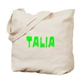 Talia Faded (Green) Tote Bag