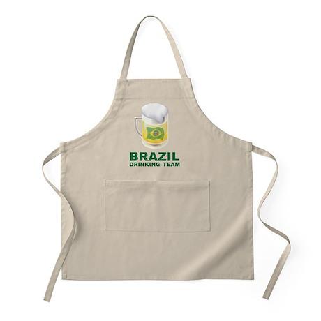 Brazil Drinking Team BBQ Apron