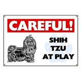 Shih Tzu At Play Banner