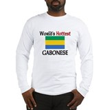 World's Hottest Gabonese Long Sleeve T-Shirt