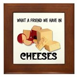 CHEESES Framed Tile