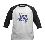 Faith It Till You Make It Kids Baseball Jersey