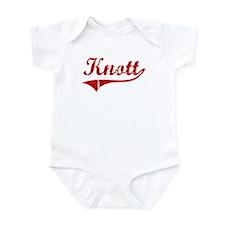 Knott (red vintage) Infant Bodysuit